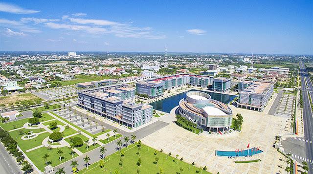 Trung tâm hành chính Bà Rịa của tỉnh Bà Rịa Vũng Tàu