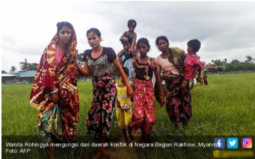Begini Cara Wanita Rohingya Agar Tidak Diperkosa Mogh dan Tentara Myanmar