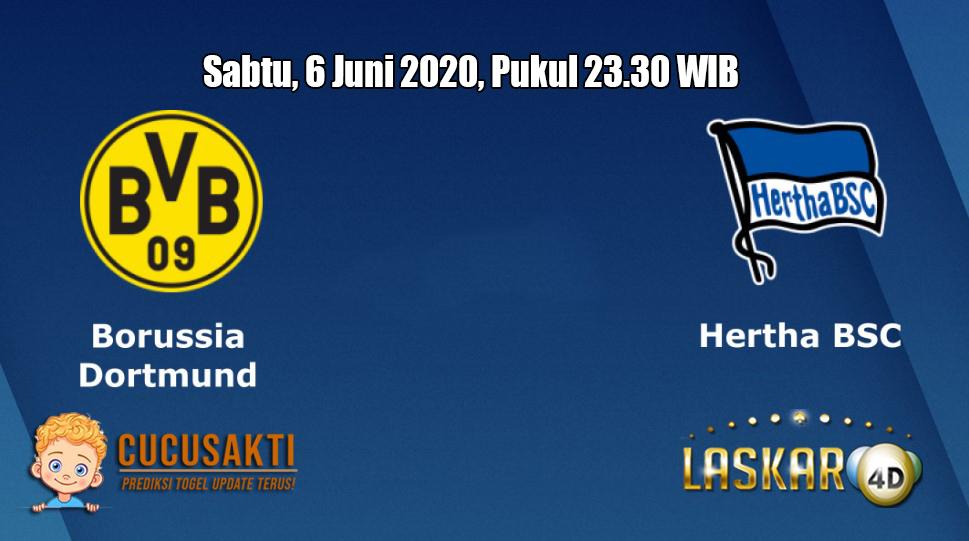 Prediksi Borussia Dortmund VS Hertha Berlin 6 Juni 2020