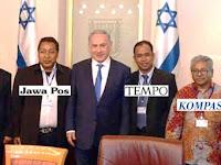Wartawan Indonesia Bertemu Perdana Menteri Israel, Ini Orang dan Medianya !