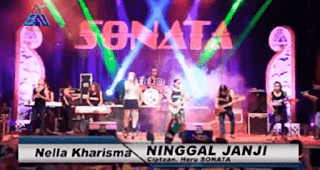 Lirik Lagu Ninggal Janji - Nella Kharisma