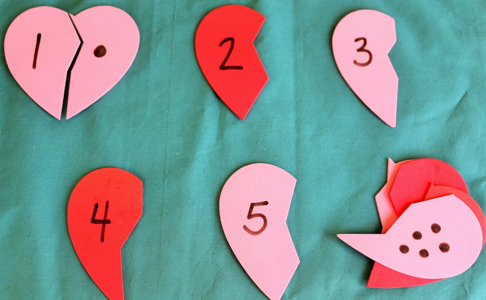 Letter V For Valentines Day Toddler Activities