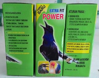 Manpaat Dan Harga Vitamin Burung Extra Fit Saat Ini Paling Baru