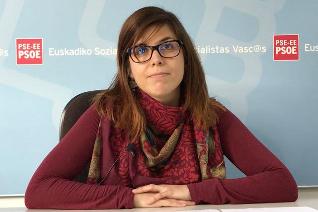 La concejala socialista Alba Delgado