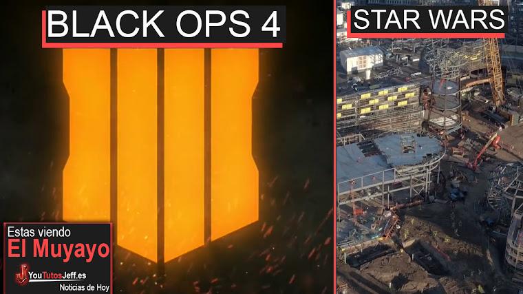 Call Of Duty Black Ops 4, Star Wars Disneyland, Record Mundial, Flippy | El Muyayo