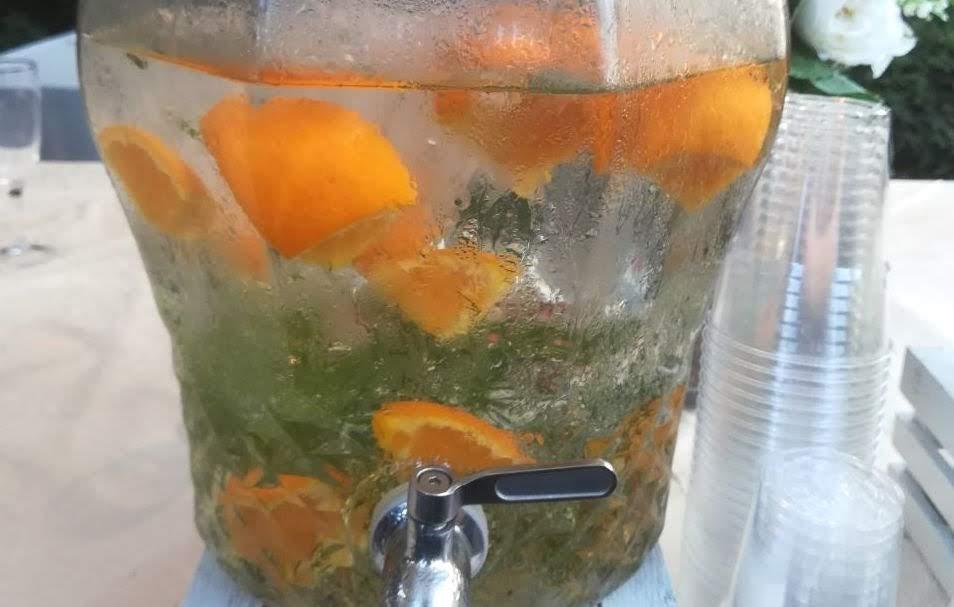 Acqua aromatizzata arancia e finocchio