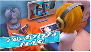 Game Youtubers Gaming Life APK+DATA Mod Terbaru