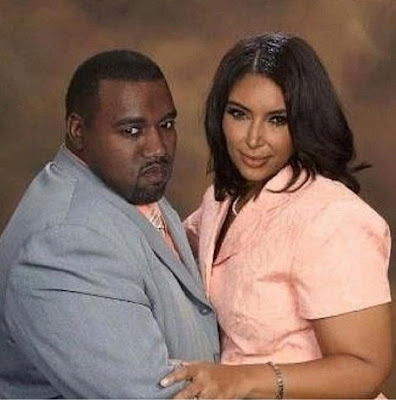 Entertainment: See How Kanye West and Kim Kardashian will look like