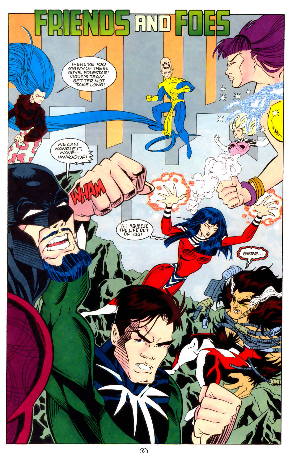 Legion of Super-Heroes (1989) 57 Page 6