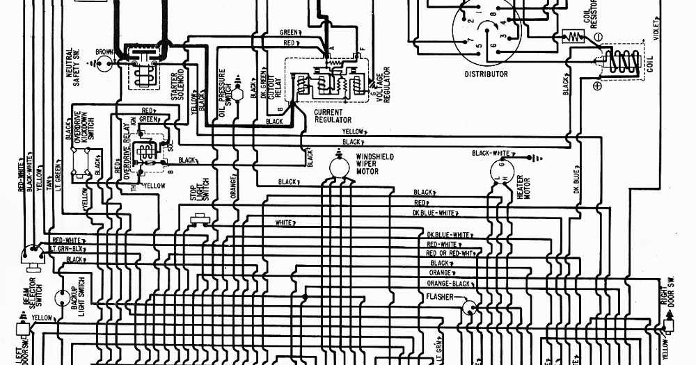 Wiring Diagram 1951 Plymouth Concord Electrical Circuit Electrical