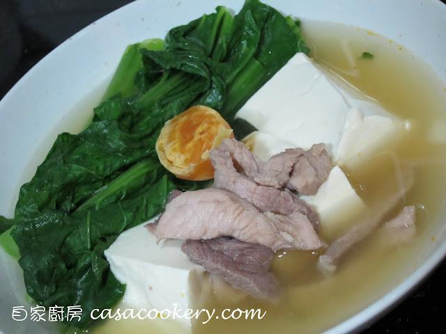自家廚房 CasaCookery: 芥菜豆腐湯