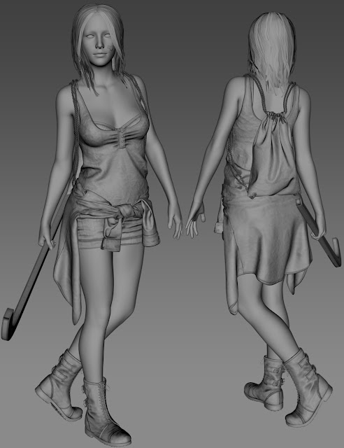 Riot Girl for Genesis 3 Female