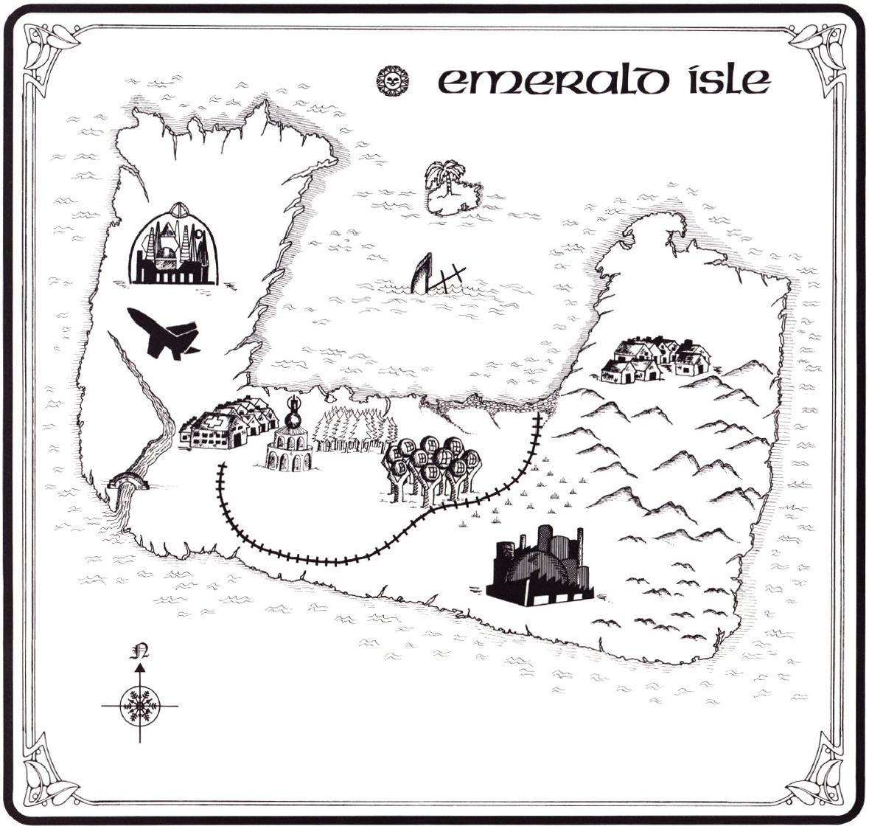 The Adventure Gamer: Missed Classic 54: Emerald Isle (1985)