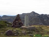 Buzón de cima del Pico Mocoso en Somiedo