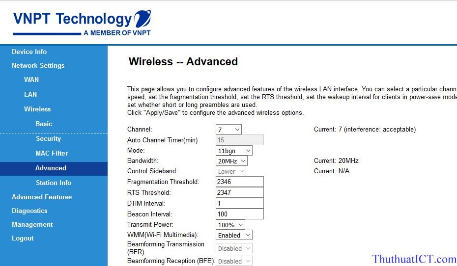 Các tính năng Router Wi-Fi (GW040 của VNPT) có thể bạn chưa biết