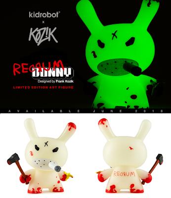 """REDRUM 5"""" Dunny Vinyl Figures by Frank Kozik x Kidrobot"""