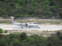 avion aerodrom Brač Gornji Humac slike otok Brač Online
