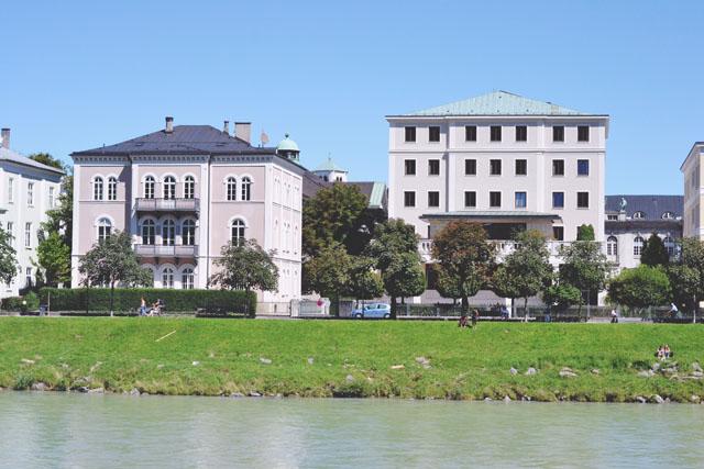 Salzach River Bank