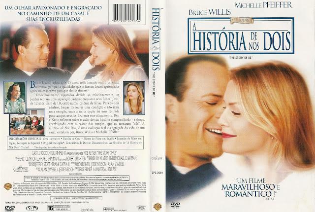 Capa DVD A História de Nós Dois