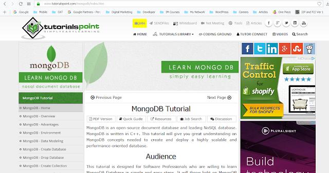 learn mongodb online