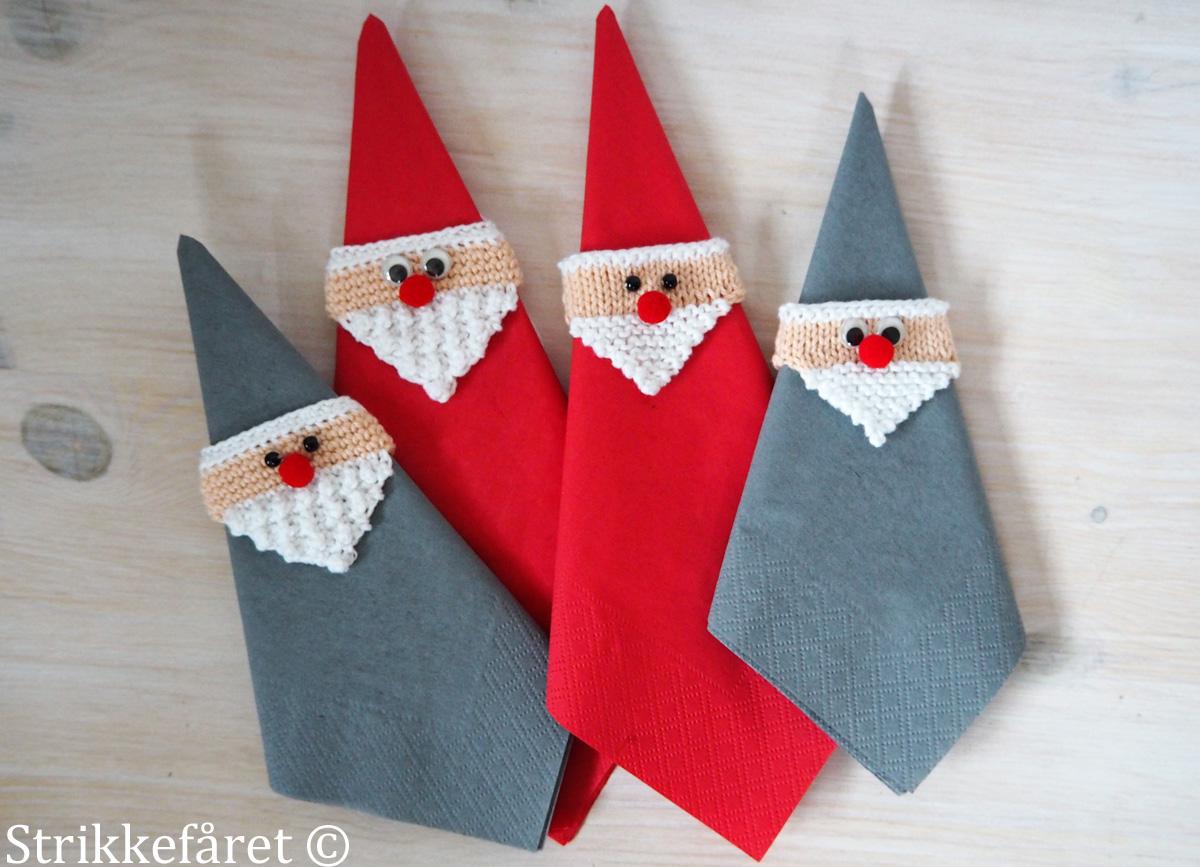 hæklet julemand opskrift