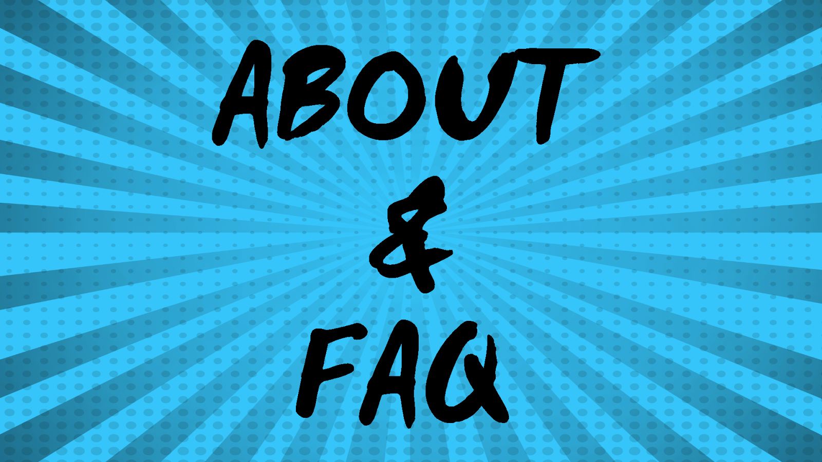 About and FAQ - Eclectic Pop Blog