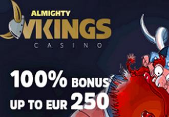 Almighty Vikings Casino Screen