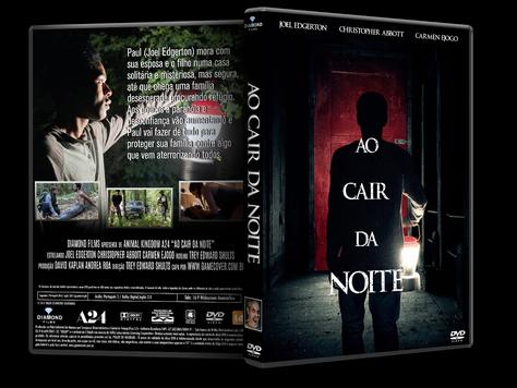 Capa DVD Ao Cair Da Noite [Exclusiva]