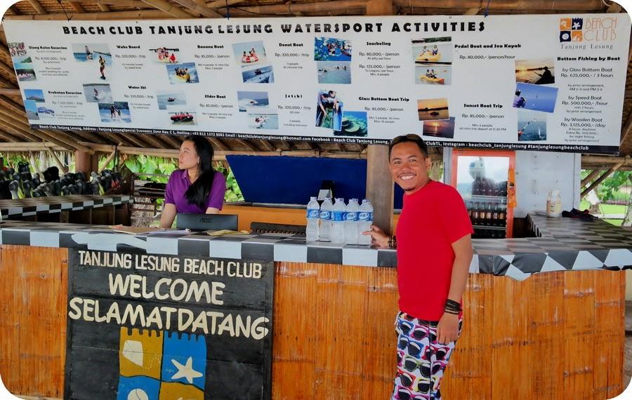 Wahana Watersport Di Tanjung Lesung