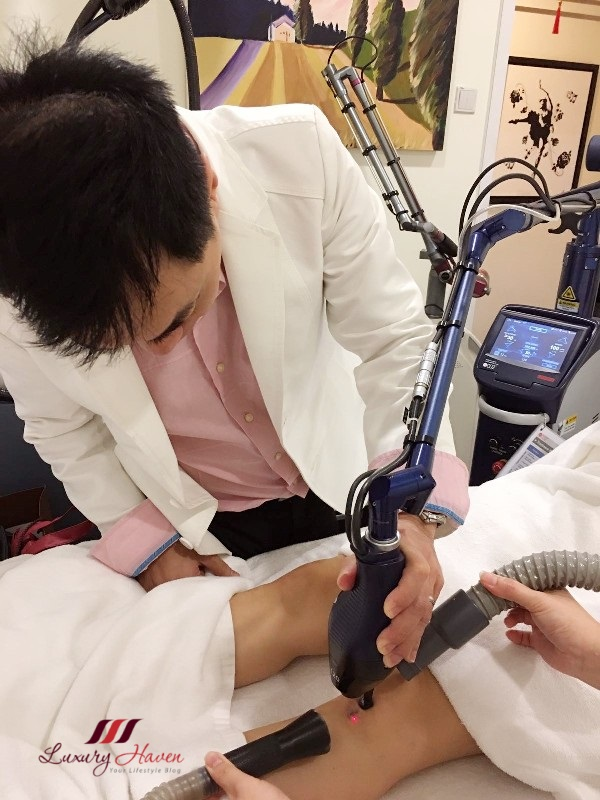 eha clinic fractional co2 laser scar removal
