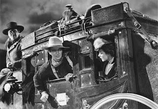 John Wayne en La diligencia
