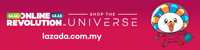 Lazada Online Revolution Blogger Contest, Lazada Online Revolution, Shop The Universe, Online Shopping,