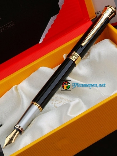 Bút máy cao cấp Picasso Pimio 903 màu đen