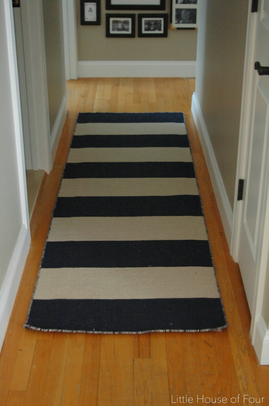 New Hallway Rug And Gallery Wall Little House Of Four Creating A Beautiful Home One Thrifty Project At Time