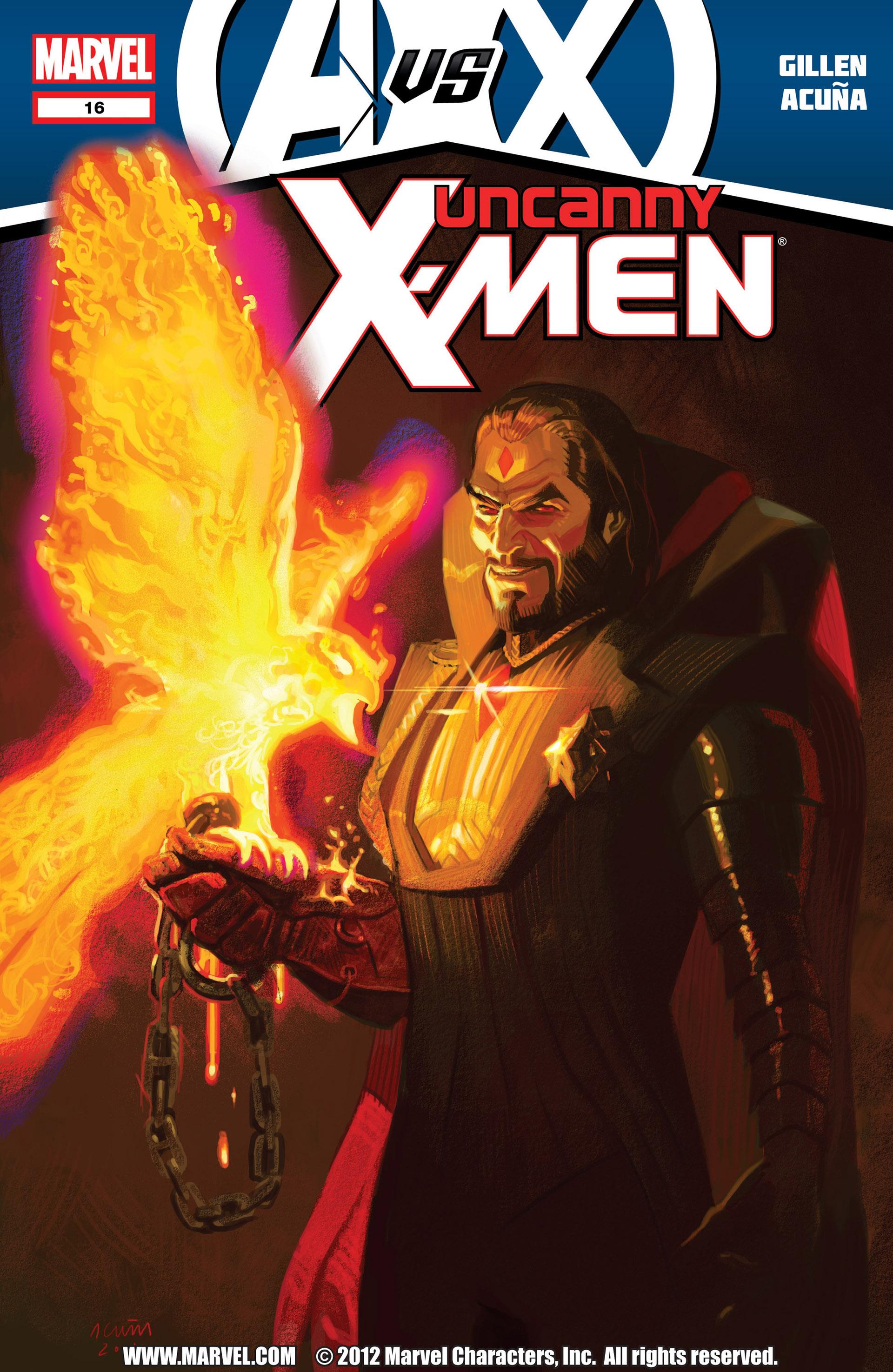 Uncanny X-Men (2012) 16 Page 1