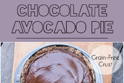 Chocolate Avocado Pie with a Grain-Free Crust