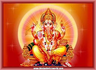 Ganapathiye Varuvaai Lyrics in English