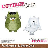 http://www.scrappingcottage.com/cottagecutzfrankensteinandghostowls.aspx