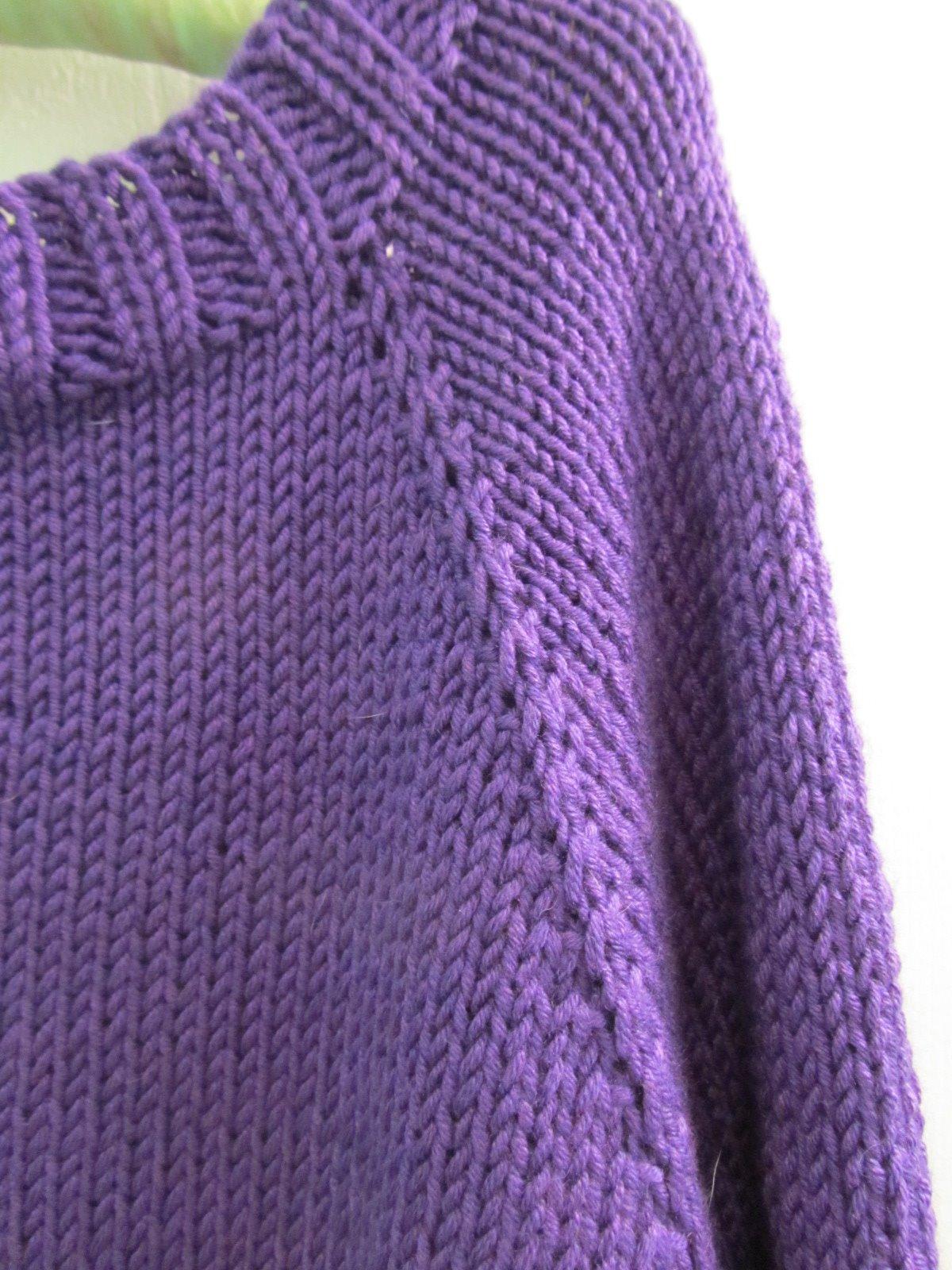 8fc95b40089f1b Fibermania  Fitting the Knit. ➤. Knitting Pattern For Raglan Sweater ...