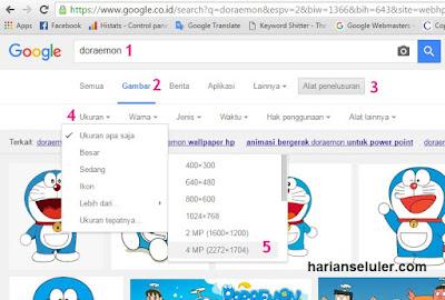 Cara Download Gambar atau Foto dari Google Resolusi Tinggi