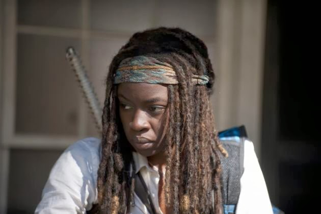 Michonne en The Walking Dead 4x11 - Claimed