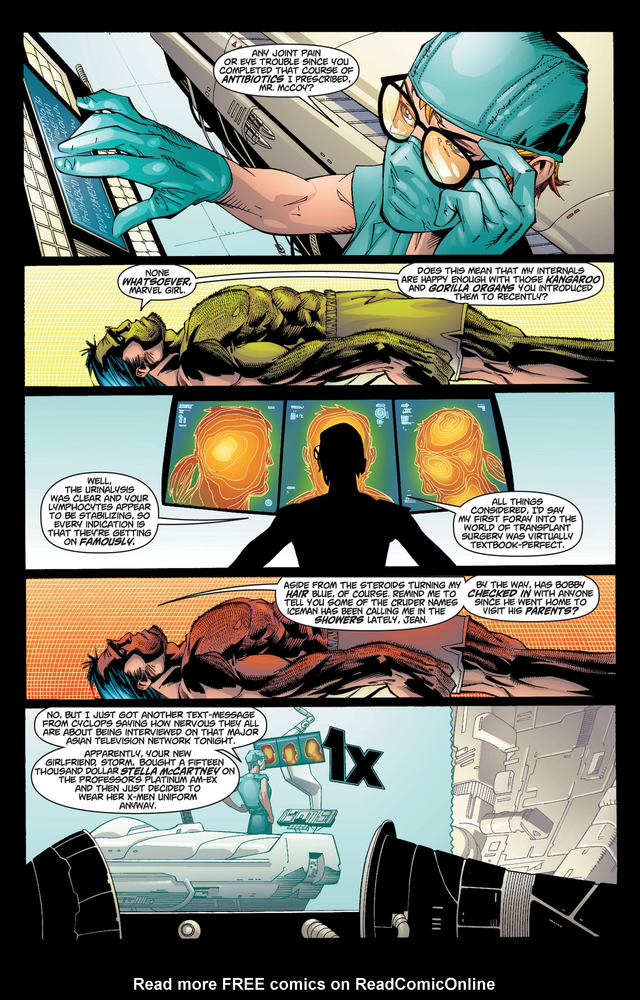 Read online Ultimate X-Men comic -  Issue #7 - 10