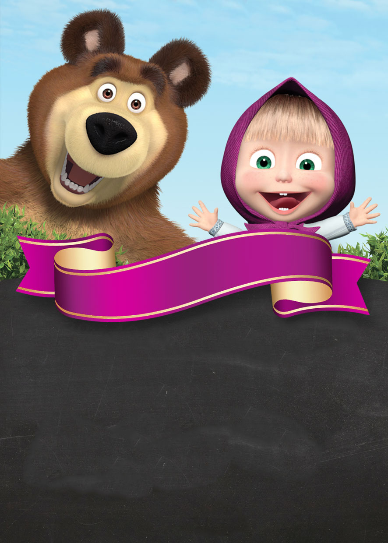 png  masha e o urso png