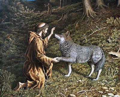 Los motivos del lobo, de Rubén Darío, por mi onomástica, Ancile.