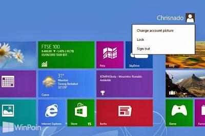 Cara Mengganti Password Akun Lokal di Windows 8