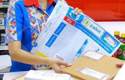 Layanan pengiriman paket I-Paket dari Indomaret dan RPX.