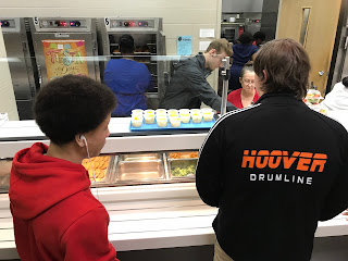 End of year learning at Hoover High School