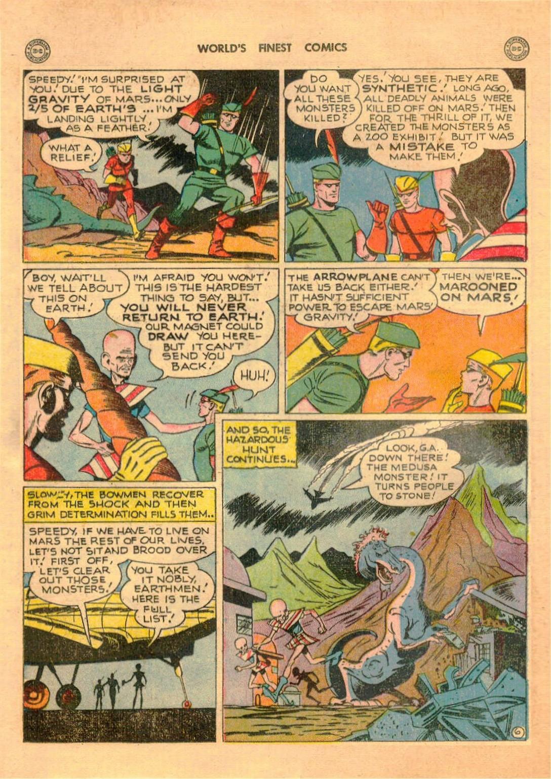 Read online World's Finest Comics comic -  Issue #42 - 22