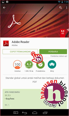 Cara uninstall game android melalui google play