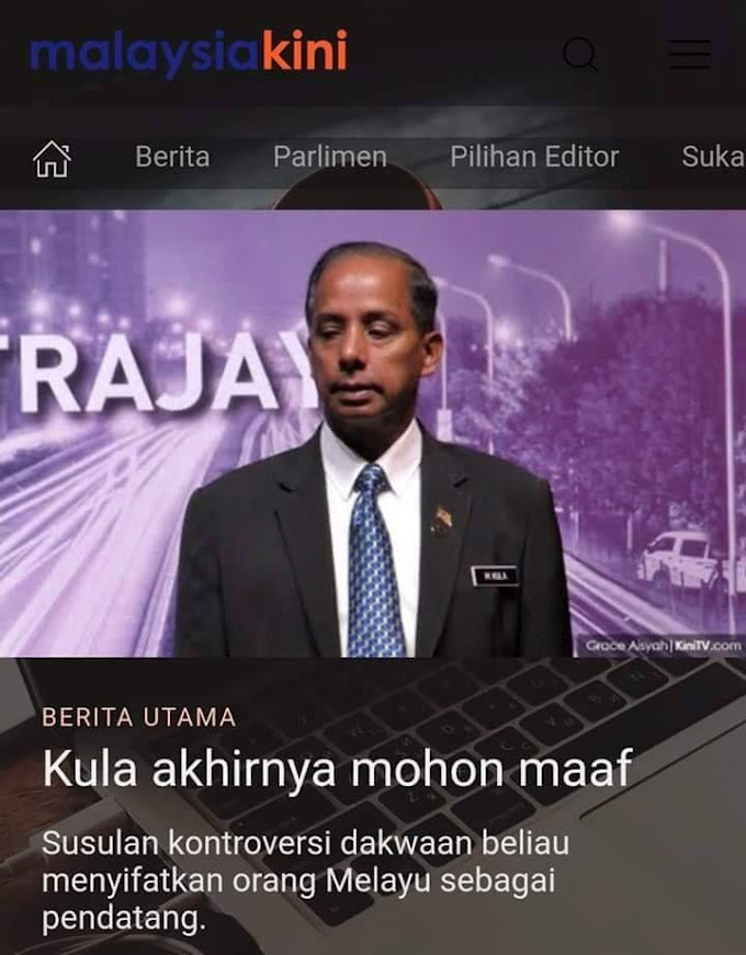 Akhirnya Kulasegaran Mohon Maaf & Akan Peluk Orang Melayu?